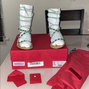 New VALENTINO Rockstud Gladiator Sandals